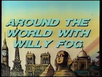 Around the World with Willy Fog (UK VHS 1988) Title card