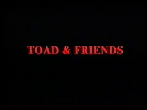 Bedtime Stories - Toad and Friends (UK VHS 1989) Title card