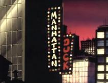 Manhattan Duck Title Card