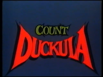 Count Duckula (UK VHS 1988) Title card