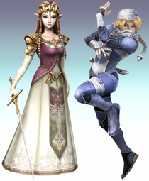 Real Zelda-Sheik