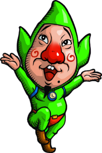 Tingle Artwork - Rosy Rupeeland