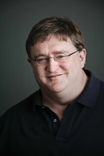 Gabe Newell Real