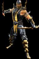 Scorpion MK9 Render