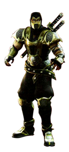 Scorpion MKD Render