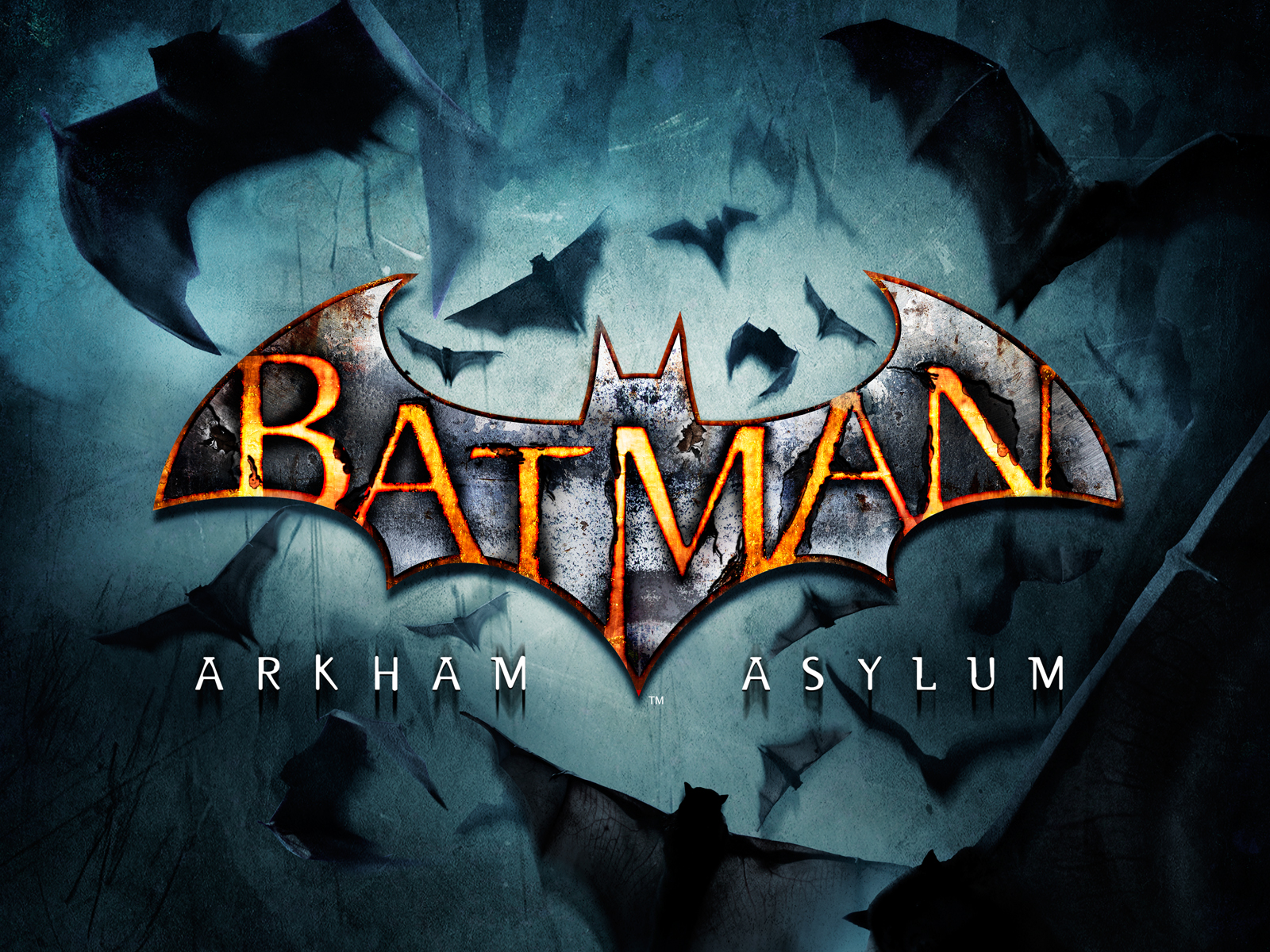 image - batman-arkham-asylum-logo-wallpaper | video games