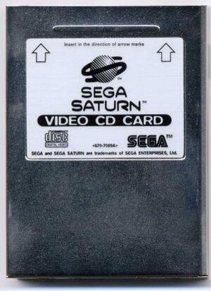 SegaSaturnVideoCDCard