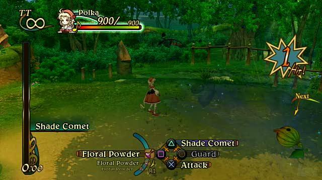 Eternal Sonata PlayStation 3 Gameplay - Forest Path