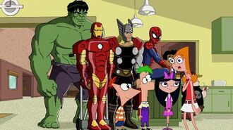 Phineas and Ferb Mission Marvel Trailer