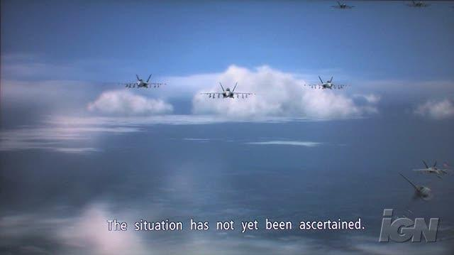 Ace Combat 6 Fires of Liberation Xbox 360 Trailer - Follow My Lead (HD Off-Screen)