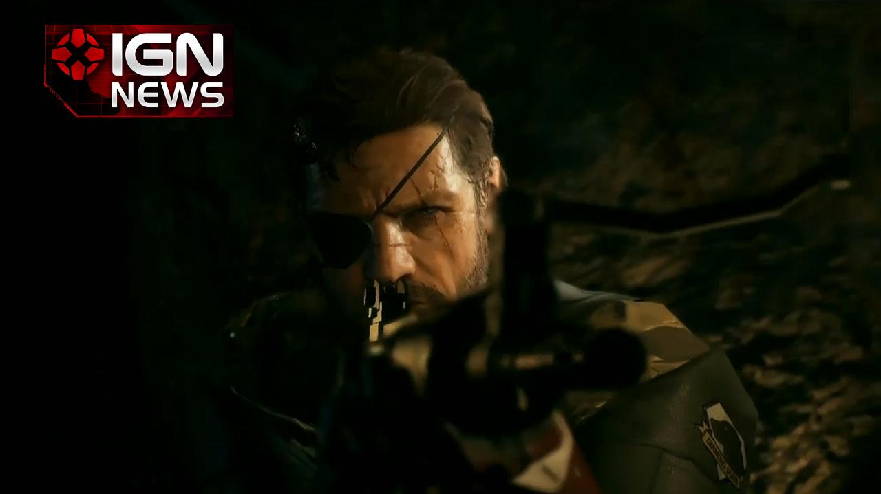 IGN News Metal Gear Solid V Coming To Xbox One - E3 2013