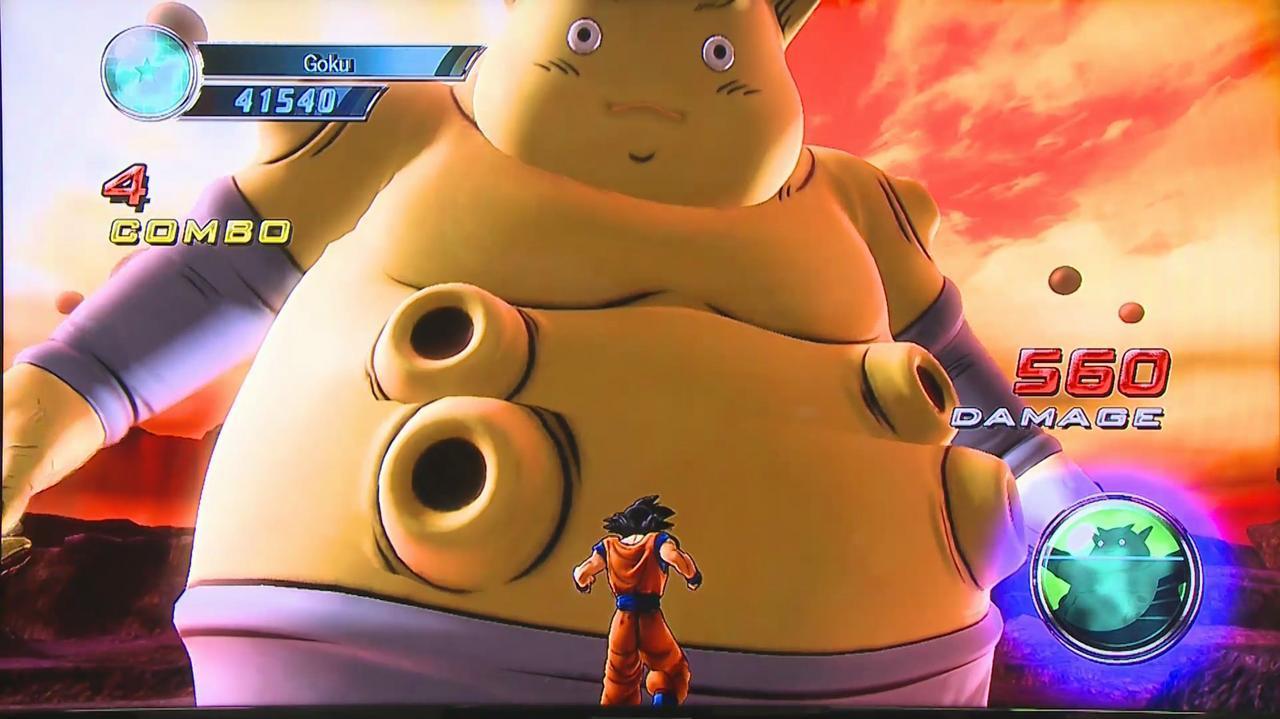 Comic Con - Dragon Ball Z Ultimate Tenkaichi - Gameplay