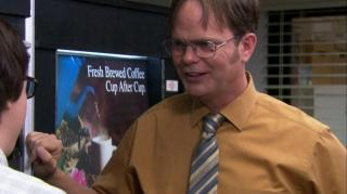 OFFICE DWIGHT QUIZZES CLARK, THE