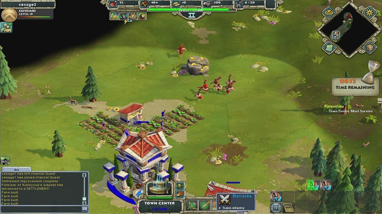 Age of Empires Online Farmer Slaughter