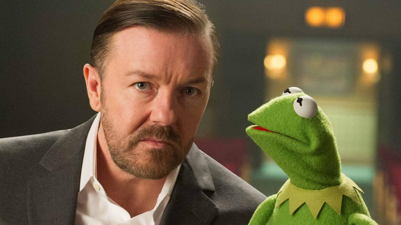 Muppets Most Wanted Ricky Gervais Interview