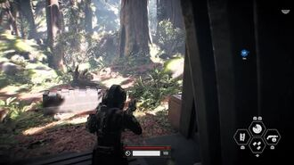 Star Wars Battlefront 2 Campaign - Endor Ambush