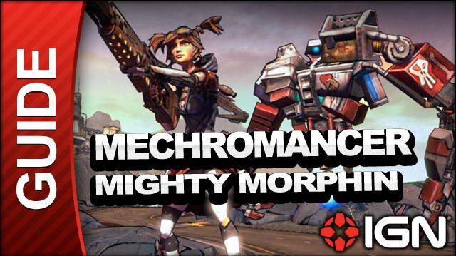 Borderlands 2 Mechromancer Walkthrough - Mighty Morphin - Side Mission