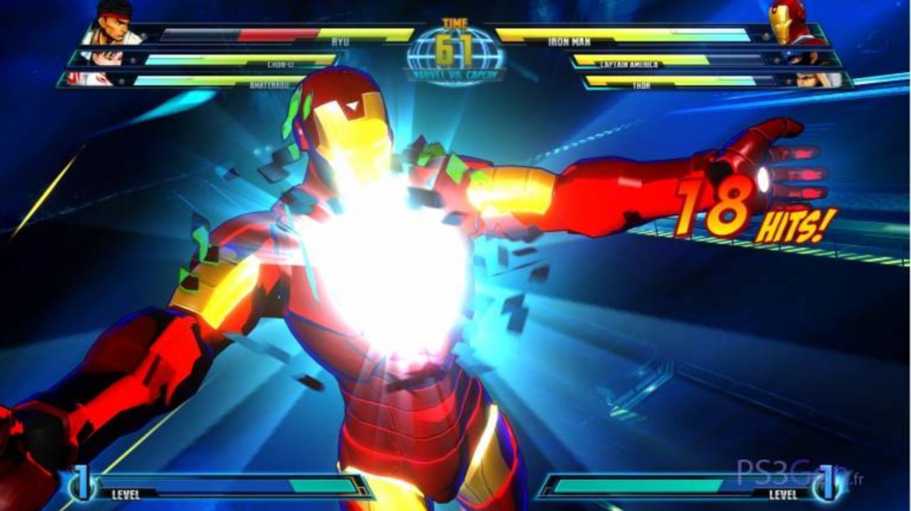 Marvel vs. Capcom 3 Iron Man Gameplay