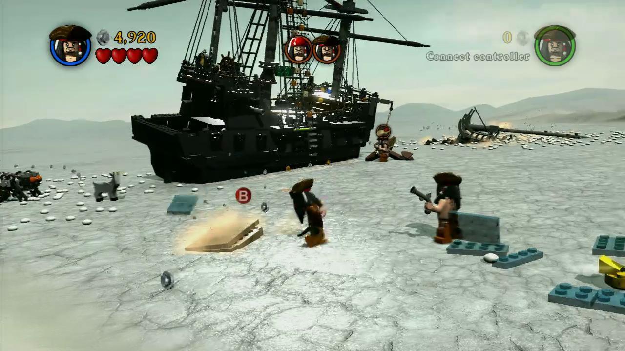 NextGenWalkthroughs LEGO PotC - Pt. 3 - Ch. 2 Davy Jones' Locker