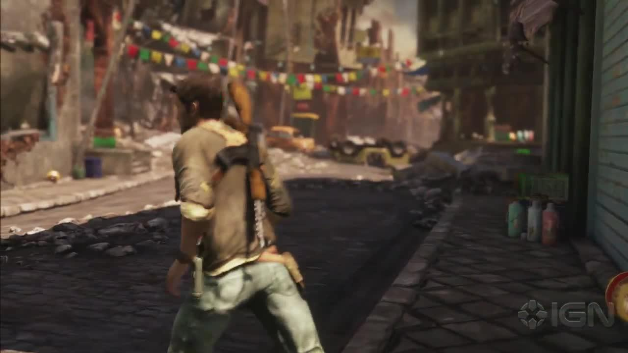 Uncharted 2 - Nepal - Gameplay