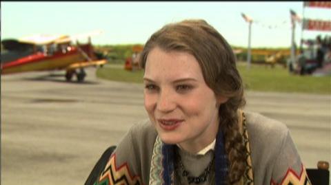 "Amelia (2009) - Interview Mia Wasikowska ""On George and Amelia"""