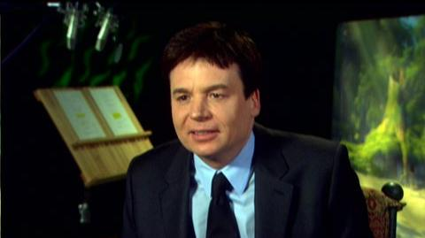 "Shrek Forever After (2010) - Interview Mike Myers ""On what's going on in Shrek's life at the start of the movie"""