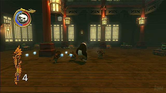 Kung Fu Panda Xbox 360 Gameplay - Hog Fight