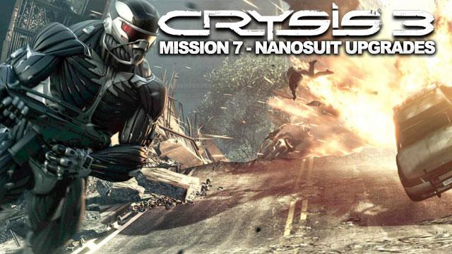 Crysis 3 Walkthrough - Mission 7 Nanosuit Upgrade Locations in Gods and Monsters