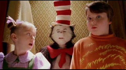 Cat in the Hat - the cat in the hat appears