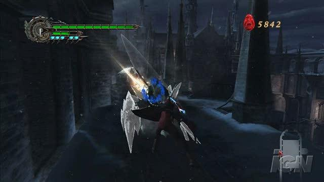 Devil May Cry 4 PlayStation 3 Gameplay - Chipping Ice