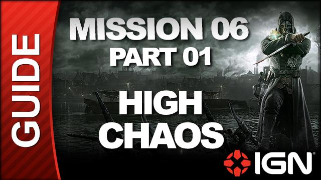 Dishonored - High Chaos Walkthrough - Mission 6 Return to the Tower pt 1