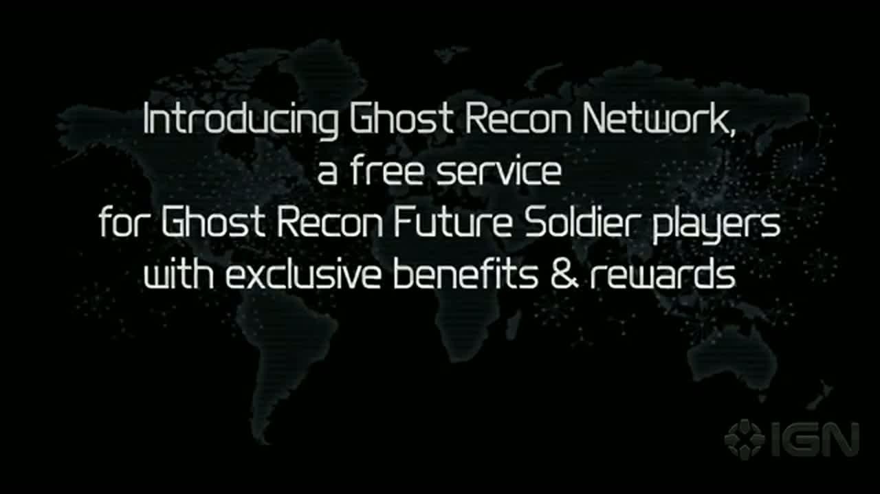 Ghost Recon Network Announcement Trailer