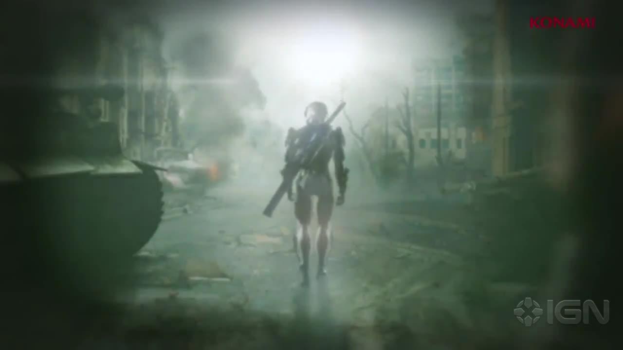 Metal Gear Rising Revengeance Gamescom Trailer