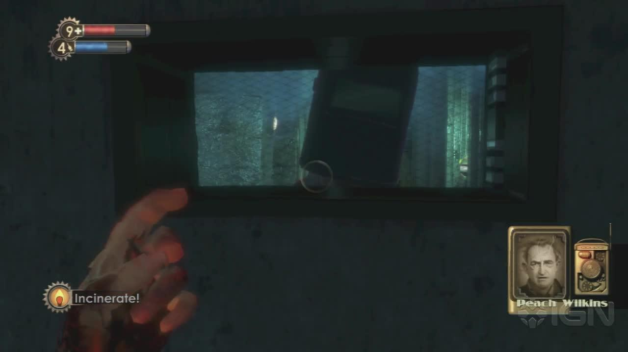 BioShock - Meet Peach - Gameplay