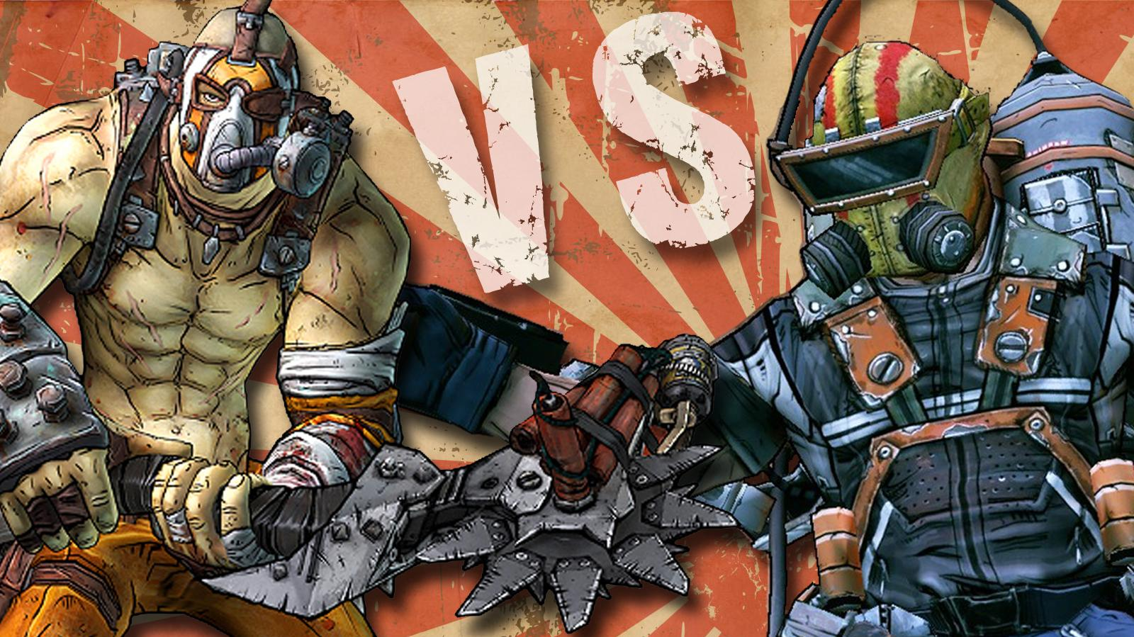 Borderlands 2 - Krieg the Psycho Vs