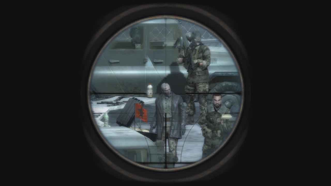 Call of Duty 4 Modern Warfare Sniper Mission