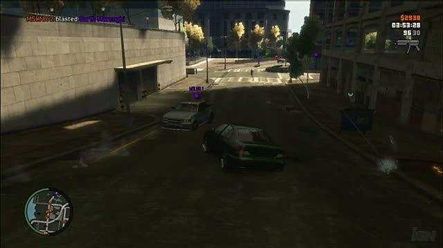 Grand Theft Auto IV Xbox 360 Gameplay - Chopper Chaos (X360)