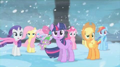 My Little Pony Friendship Is Magic Adventures In The Crystal Empire () - Clip Something Keeps Trying To Get In