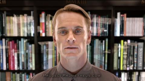 Prometheus (2012) - Clip David 8 Promo