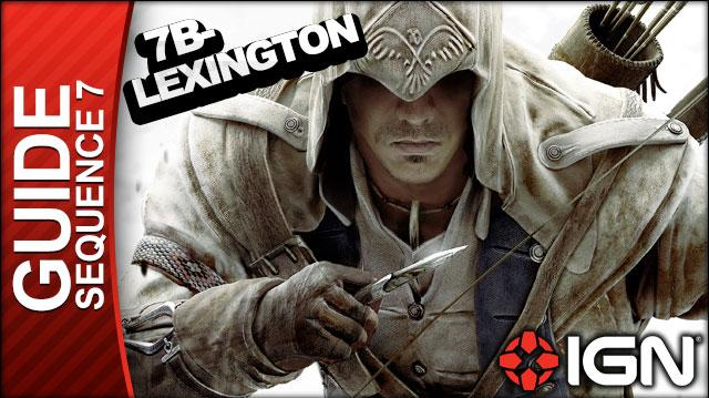 Assassin's Creed 3 - Sequence 7 Lexington and Concord - Walkthrough (Part 29)