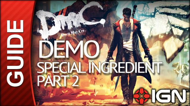 Devil May Cry Demo Walkthrough - Special Ingredient - Part 2