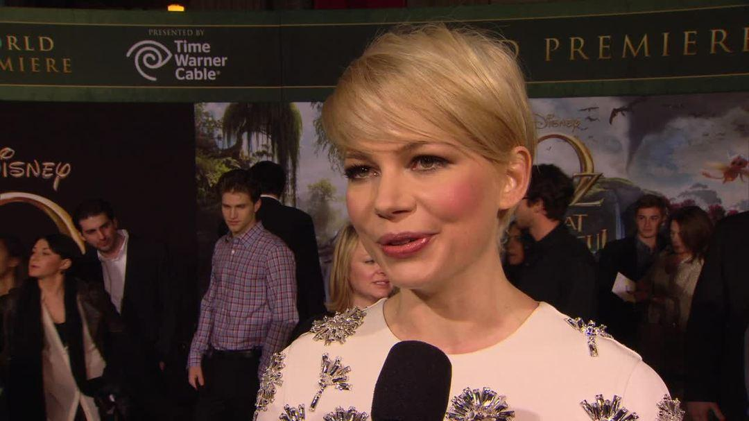 Oz the Great and Powerful - Michelle Williams Interview