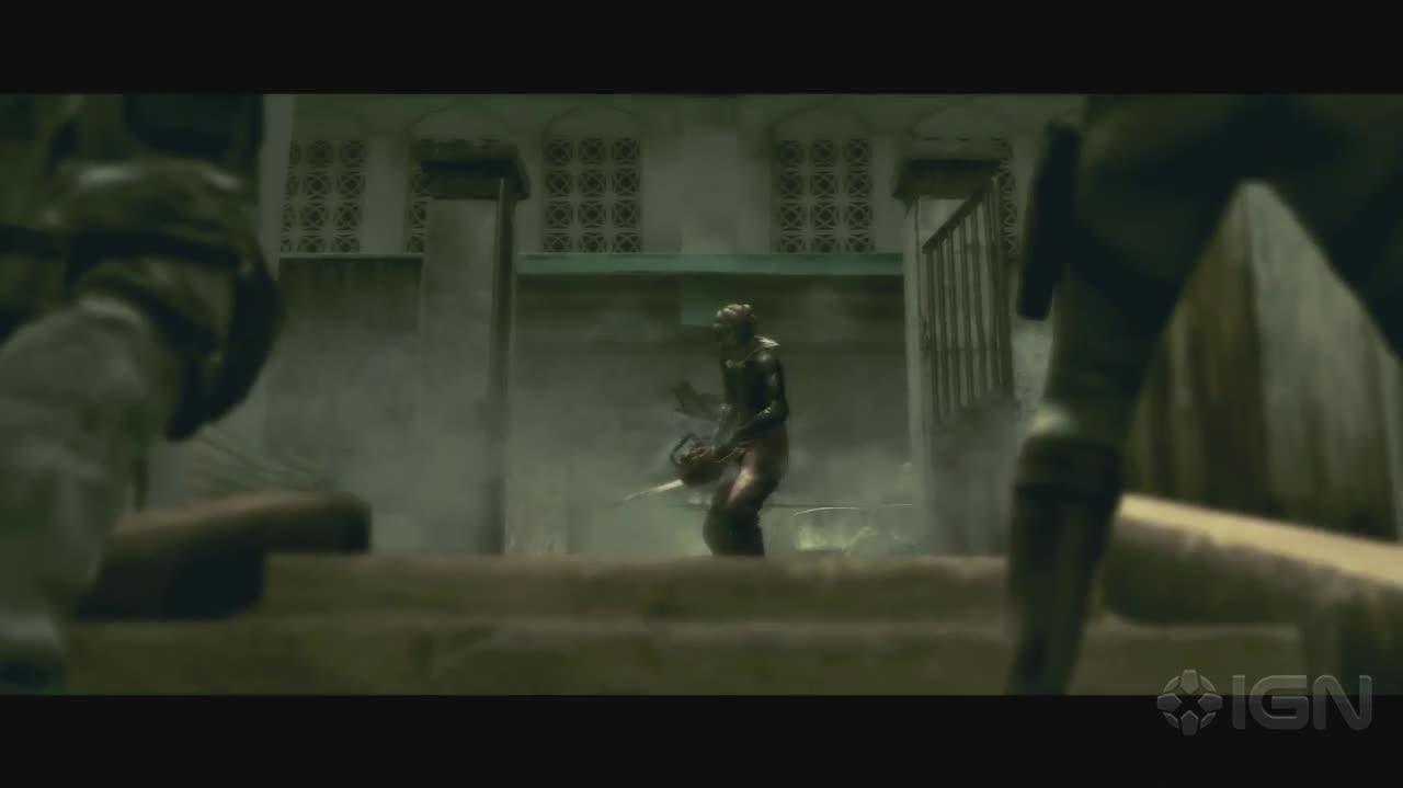 Resident Evil 5 - Chainsaw Majini - Gameplay
