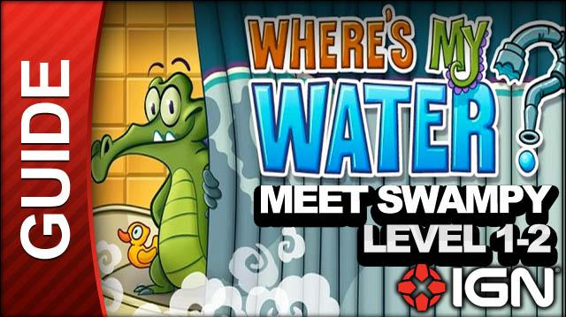 Where's My Water (iPad) - Meet Swampy - Level 1-2 A Rock is a Hard Place