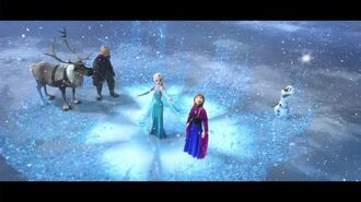 Frozen - Original Theme and Art Bonus Clip