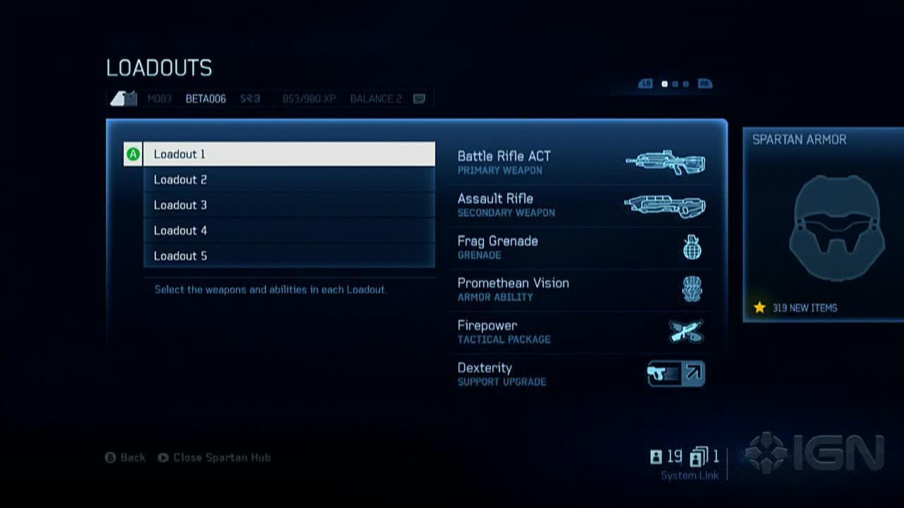 Halo 4 - Multiplayer Loadouts Walkthrough