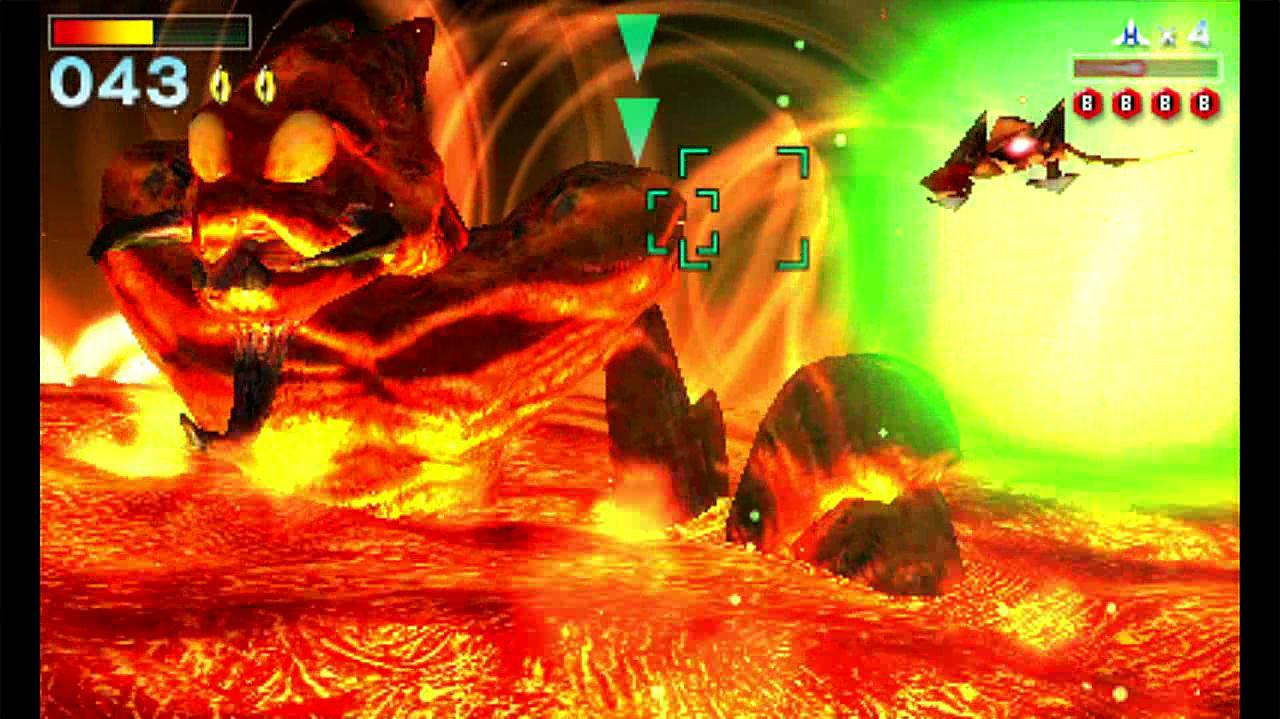 Star Fox 64 3D – Vulcain Boss Fight