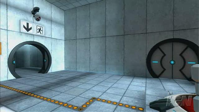 The Orange Box PlayStation 3 Gameplay - Portal Gameplay