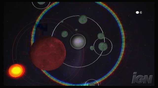 Art Style Orbient Nintendo Wii Gameplay - Orbiting space