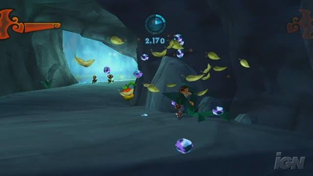 Crash of the Titans Nintendo Wii Gameplay - Into the Cave (480p)